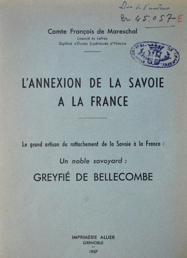 archives departementales de la savoie